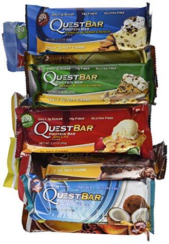 verschiedene Sorten der Quest Bar günstig kaufen
